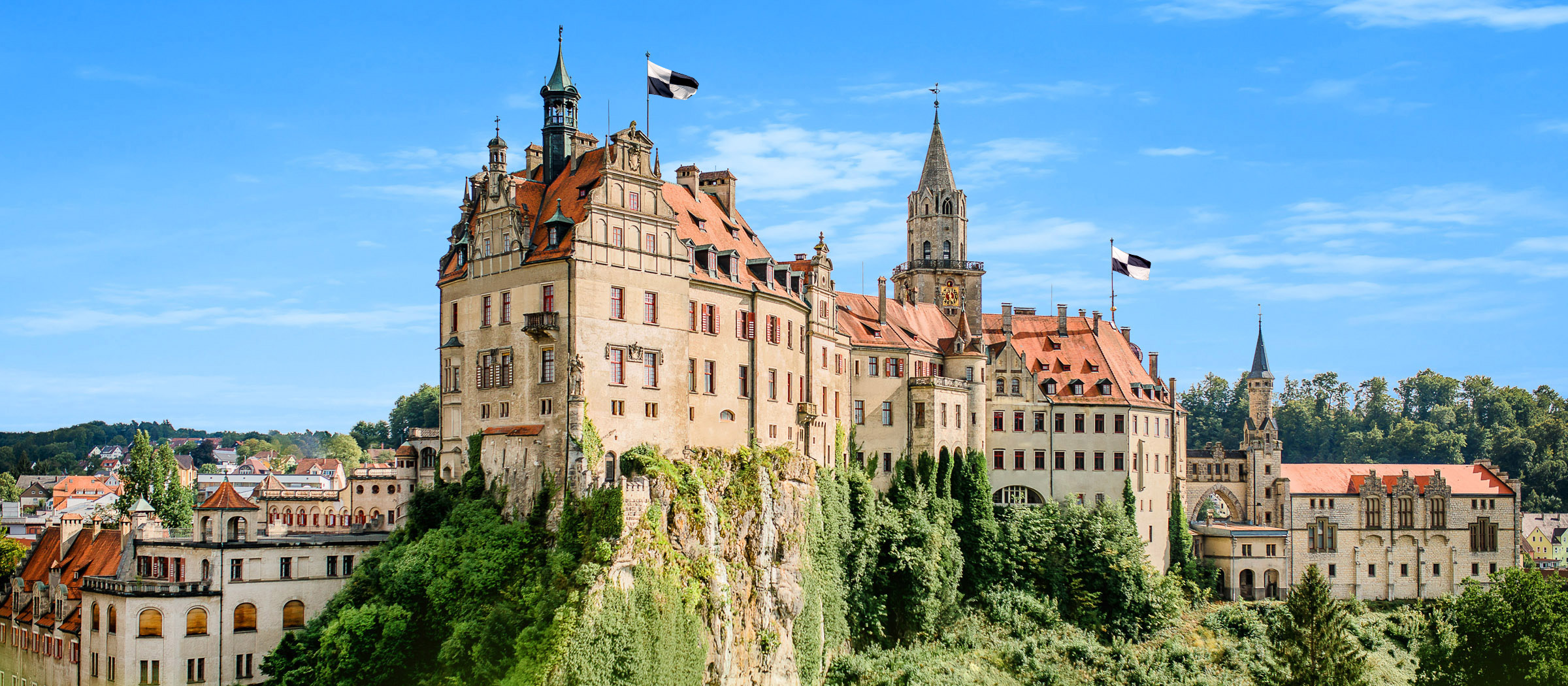 Hohenzollernschloss Sigmaringen – Deutschlands zweitgrößtes Stadtschloss